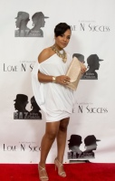 "Robyn Charles on the red carpet for the ""Love N Success"" Movie Launch Party, ray charles, legacy"